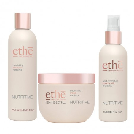 EMSIBETH ETHÈ NUTRITIVE SHAMPOO 250ML+MASK 150ML+CREAMY MILK 150ML