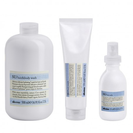 KIT SU DAVINES HAIR & BODY WASH 500ML+MILK135ML+MASK150ML