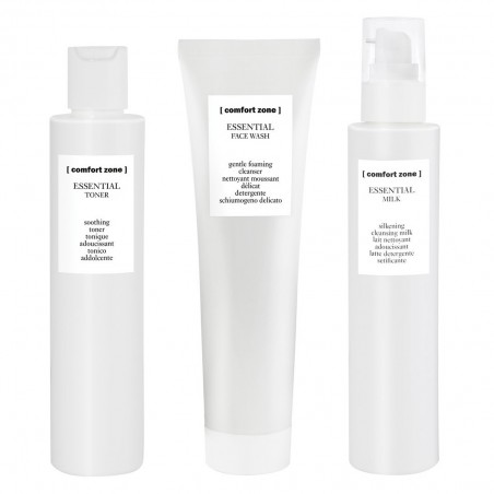 KIT ESSENTIAL COMFORT ZONE MILK 200+TONER200ML+FACE WASH 150ML