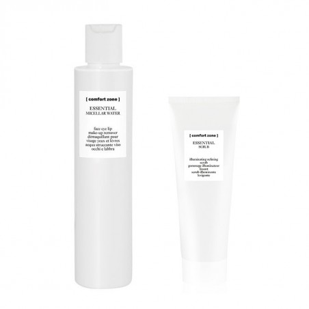 KIT ESSENTIAL MICELLAR WATER 200ML+SCRUB60ML