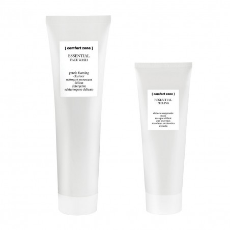 COMFORT ZONE ESSENTIAL FACE WASH 200ML+PEELING 60ML