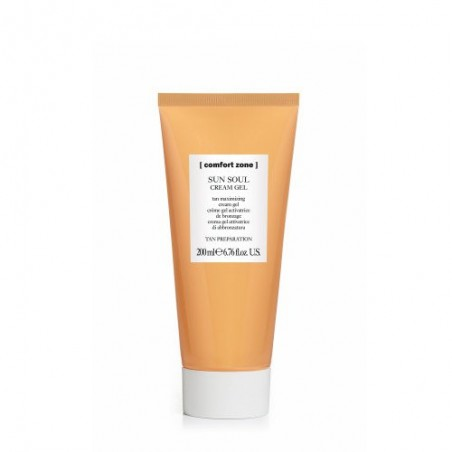 COMFORT ZONE SUN SOUL CREAM GEL TAN MAXIMIZING 200ML