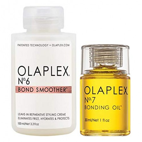 OLAPLEX BOND SMOOTHER 100ML+BONDING OIL 30ML