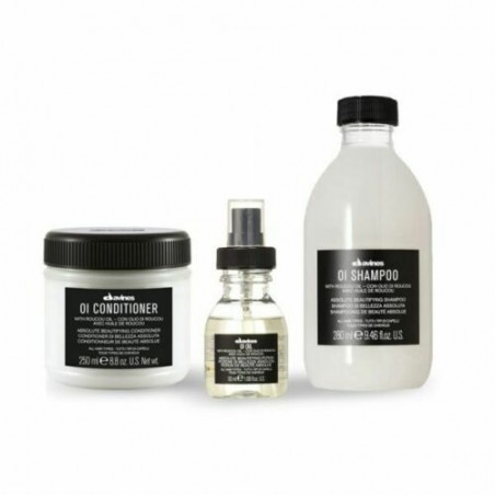 DAVINES OI KIT SHAMPOO 280ML + CONDITIONER 250ML + OI OIL 50ML