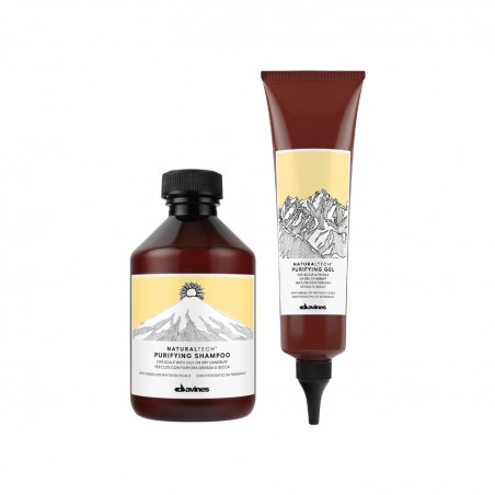 DAVINES KIT PURIFYING SHAMPO 250ML+GEL 150ML