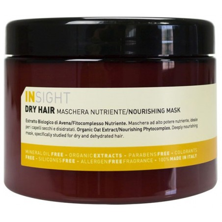 INSIGHT DRY HAIR MASCHERA NUTRIENTE NOURISHING MASK  500ML