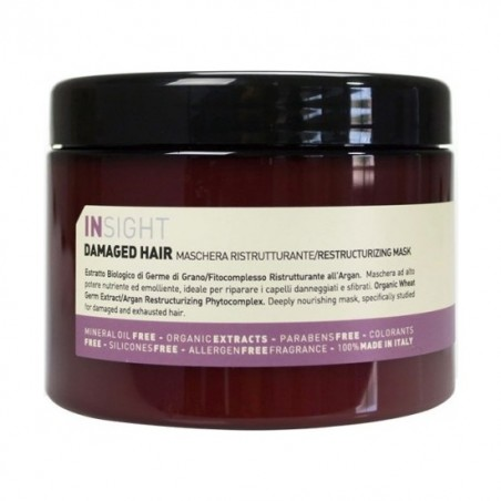 INSIGHT DAMAGED HAIR MASCHERA RISTRUTTURANTE RESTRUCTURIZING MASK 500ML