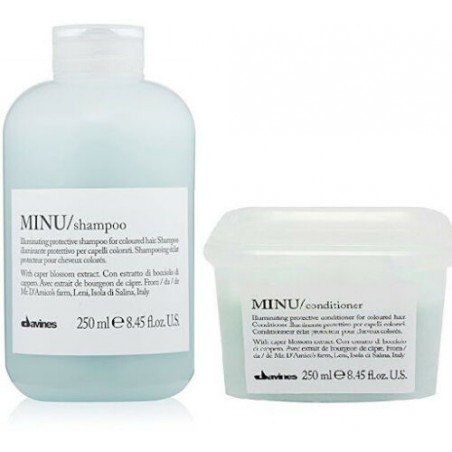 DAVINES ESSENTIAL HAIRCARE KIT MINU SHAMPOO 250ML+CONDITIONER 250ML
