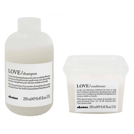 DAVINES ESSENTIAL HAIRCARE KIT LOVE CURL SHAMPOO 250ML+CONDITIONER 250ML