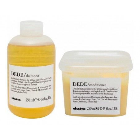 DAVINES ESSENTIAL HAIRCARE KIT DEDE SHAMPOO 250ML+CONDITIONER 250ML
