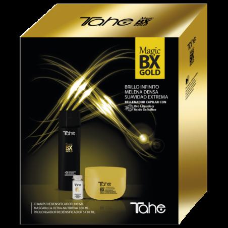 TAHE PACK MAGIC BX GOLD SHAMPOO 300ML+MASCHERA 300ML+FIALE MANTENIMENTO 5X10ML